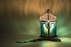 Lampion odbija dodatek specjalny barwiących światła Obrazy Royalty Free