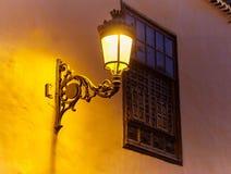 Lampion przy nocą Fotografia Royalty Free
