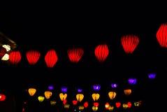 Lampion w Hoi, Wietnam Obrazy Stock
