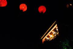 Lampion w Hoi, Wietnam Zdjęcie Royalty Free