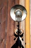 Lampion w stajence obraz stock
