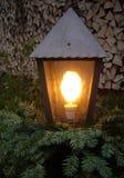 Lampion w wieczór Zdjęcia Royalty Free