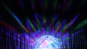 Lampion z barwiącym oświetleniem zdjęcie wideo