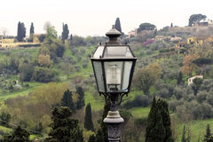 Lampione, Firenze, Italia Immagini Stock