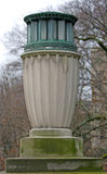 Lampione insolito dell'urna fotografia stock