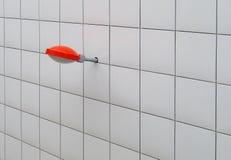 Lampione rosso Fotografia Stock