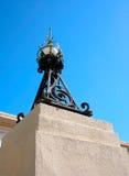 Lampione storico del ferro Fotografie Stock