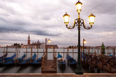 Lampione veneziano Fotografie Stock