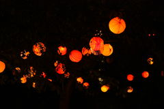 Lampions Fotografia Stock Libera da Diritti