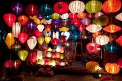 Lampions colorés Photos libres de droits