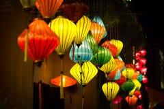 Lampions colorés en Hoi An Vietnam Images stock