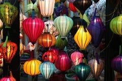 Lampions de Hoian, Vietnam Imágenes de archivo libres de regalías