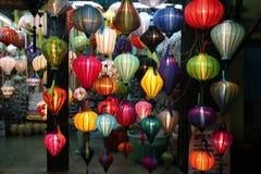 Lampions de Hoian, Vietnam Fotografía de archivo