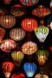 Lampions de Hoian, Vietnam Foto de archivo libre de regalías