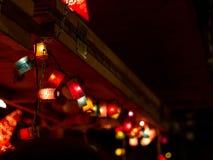 Lampions de la Navidad foto de archivo libre de regalías