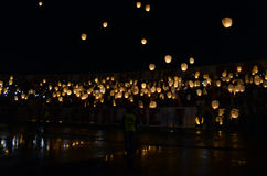 Lampions eller kinesiska lyktor Royaltyfria Foton