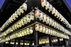 Lampions giapponesi Immagini Stock Libere da Diritti