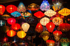 Lampions in Hoi An Vietnam Royalty Free Stock Image