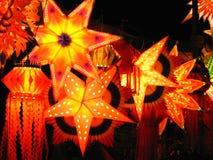 lampionu światło Obraz Royalty Free
