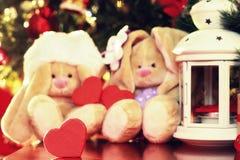 Lampionu i zabawki nowy rok Fotografia Stock