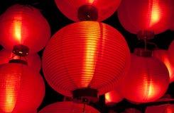 lampiony czerwoni Obraz Royalty Free
