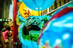 Lampiony dla w połowie jesień festiwalu Zdjęcie Royalty Free