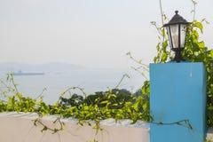Lampiony pełzające rośliny i lampy Zdjęcie Royalty Free