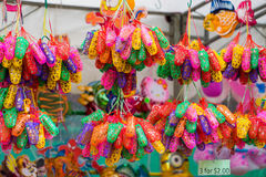 Lampiony przy W połowie jesień festiwalem w ogródzie zatoką, Singapur zdjęcie royalty free