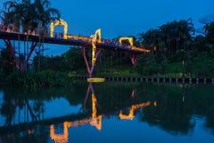 Lampiony przy W połowie jesień festiwalem w Singapur zdjęcia stock