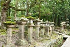 Lampiony w Nara Zdjęcia Royalty Free