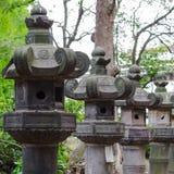 Lampiony w Tokio Zdjęcia Stock