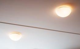Lamplichten Stock Afbeeldingen