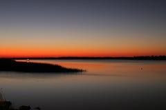 lamplight ψαράδων Στοκ Εικόνες