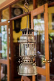Lamplight. The old lamplight for decoration Royalty Free Stock Photos