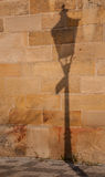 Lamplight Shadow Stock Photo