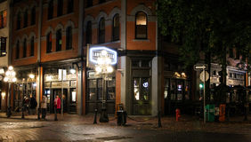 The Lamplighter Public House, Vancouver, BC Stock Photos