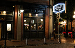 The Lamplighter Public House, Vancouver, BC Royalty Free Stock Photo