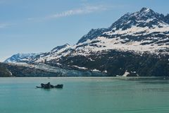 Lamplugh Glacier Royalty Free Stock Images