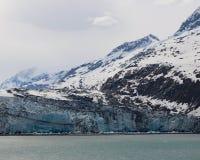 Lamplugh lodowiec Zdjęcia Stock