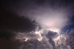 Lampo Fotografie Stock Libere da Diritti