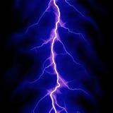 Lampo blu Immagine Stock