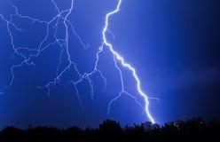 Lampo nel cielo Fotografie Stock Libere da Diritti