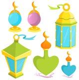 lampor stock illustrationer