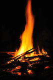 Lampor av branden Royaltyfria Bilder