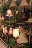 lampor för 1 skärm royaltyfri bild