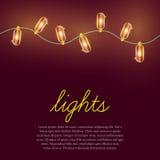 lampor för bild för bakgrundskulajul defocused royaltyfri illustrationer