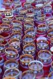 lampor med stearinljusljus Royaltyfria Bilder
