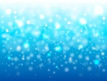 Lampor på blå background royaltyfri illustrationer
