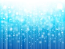 Lampor på blå background vektor illustrationer