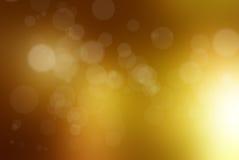 lampor som skiner sunen Arkivfoton